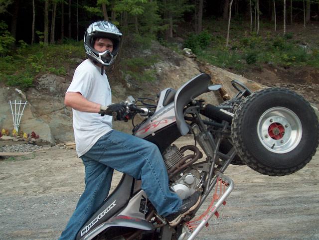 ATV Wheelie How to Guide