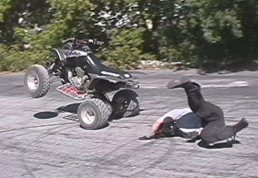 ATV Wheelie How to Guide