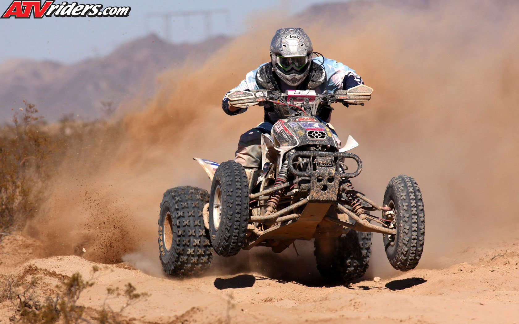 nick nelson on his honda trx 450r at best in desert racing