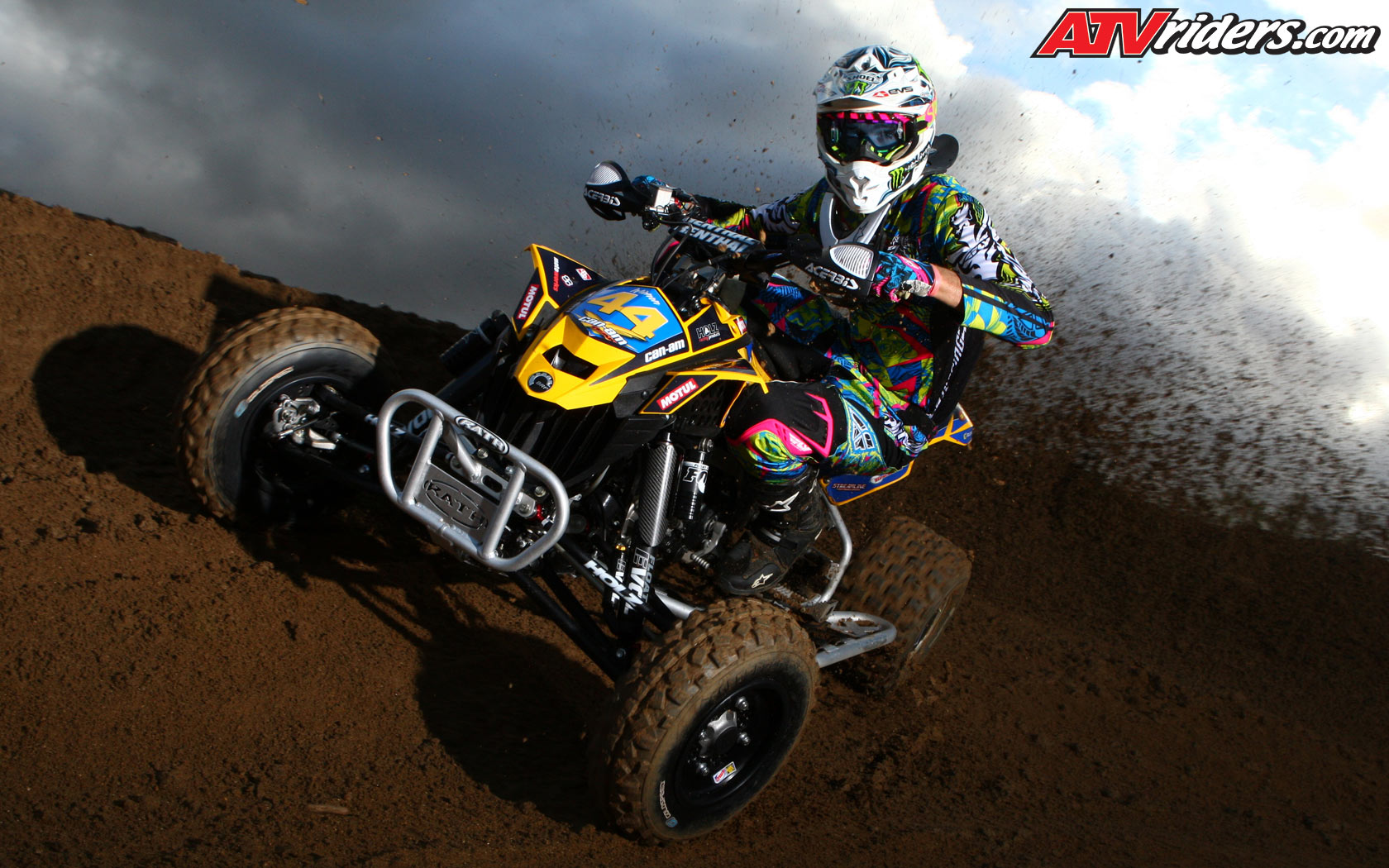 Atv Motocross Chad Wienen Can Am Ds450 Wednesday Wallpapers Picture