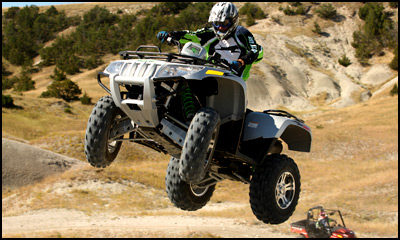 Thundercat 1000  on Arctic Cat Thundercat 1000 4x4 Performane Atv    Wednesday