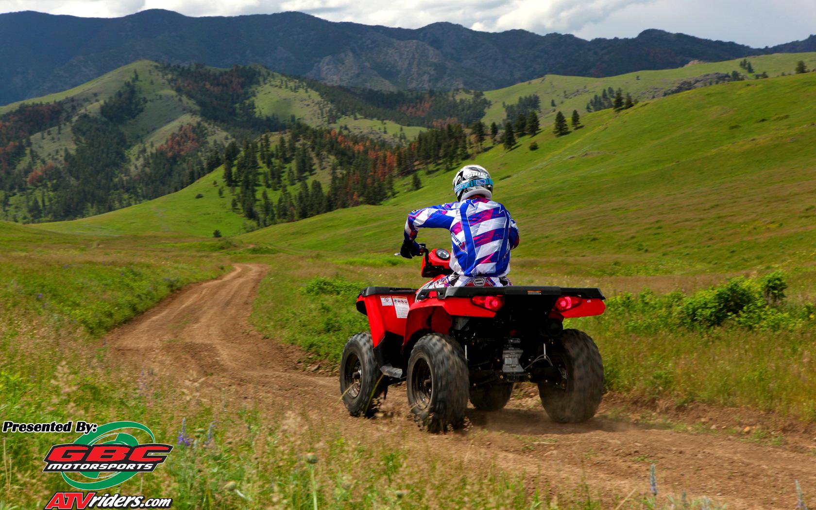 2010 Polaris Sportsman 400 H O 4x4 Atv Montana Mountains