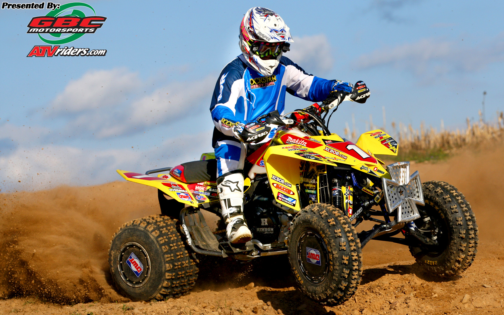 chris borich suzuki ltr450 atv multitime gncc atv