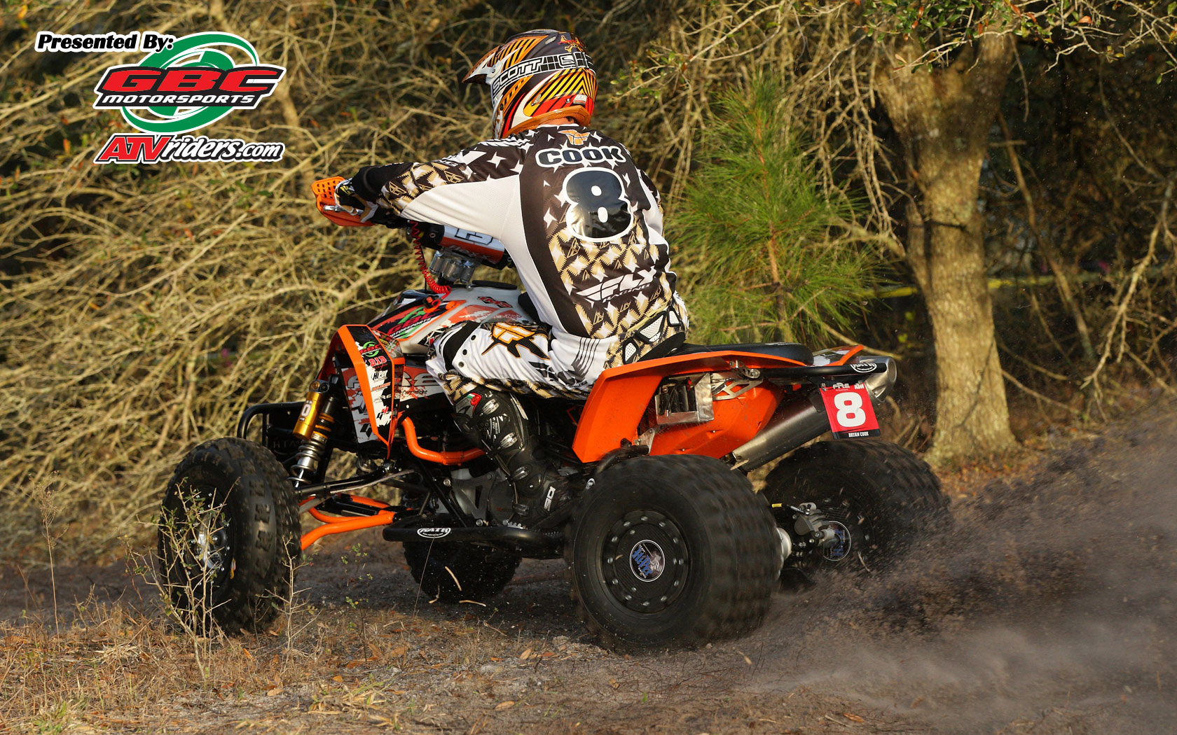 fre ktm 39 s 8 bryan cook ktm 450 xc atv wednesday wallpapers. Black Bedroom Furniture Sets. Home Design Ideas