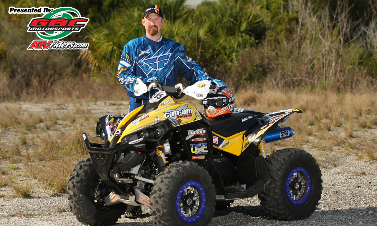 "Can Am Renegade 800 >> Team UXC Racing's Cliff Beasley - 3x GNCC Lites ATV Champion - ""Wednesday Wallpapers"""