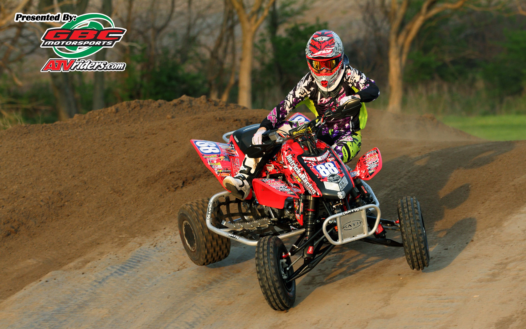 Elka Suspension S Joel Hetrick Honda Trx450r Atv