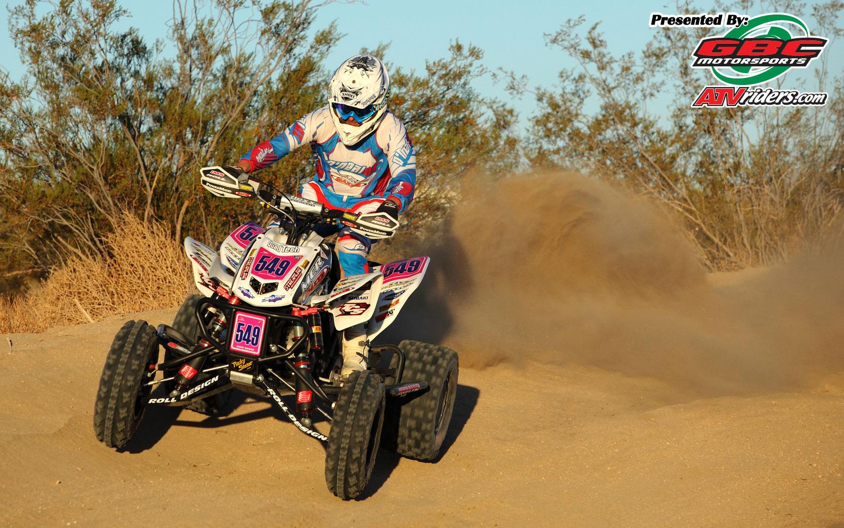 Elka Suspensions Beau Baron  Honda TRX450R ATV