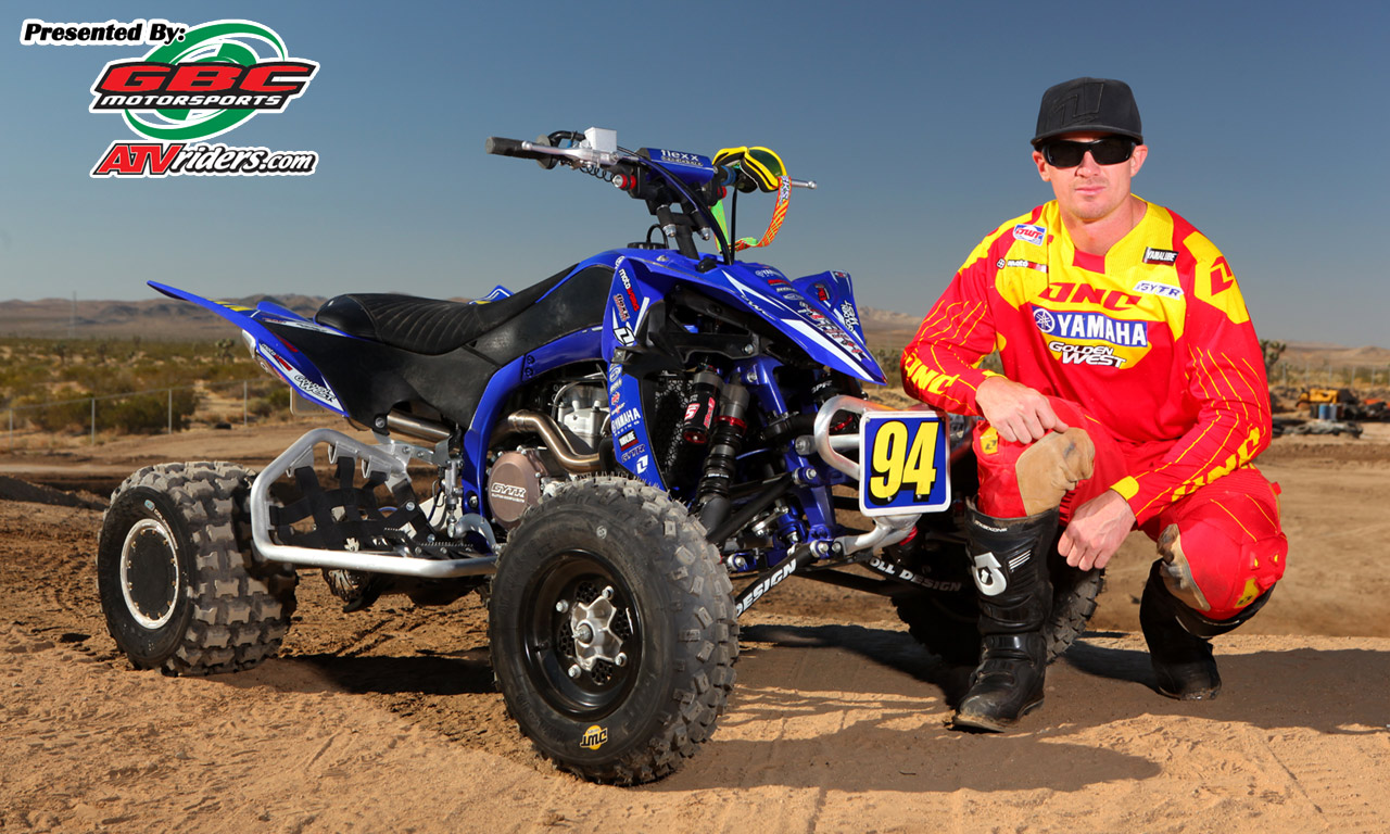 2011 yamaha quadx atv pro champion dustin nelson