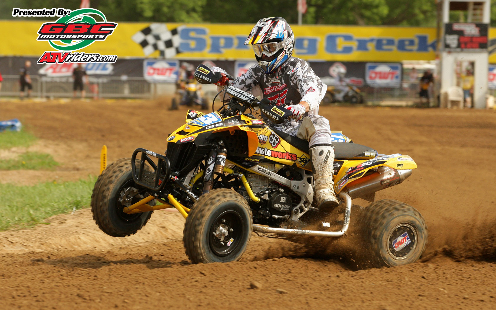 Side By Side Atv >> Percision Racing's John Natalie - Can-Am DS450 Sport ATV ...
