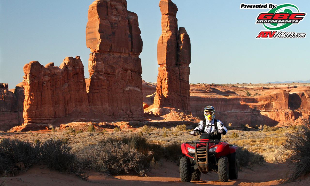 Honda Rancher Utility Atv Moab Riding Area Determination Towers Quot Gbc Motorsports Wednesday