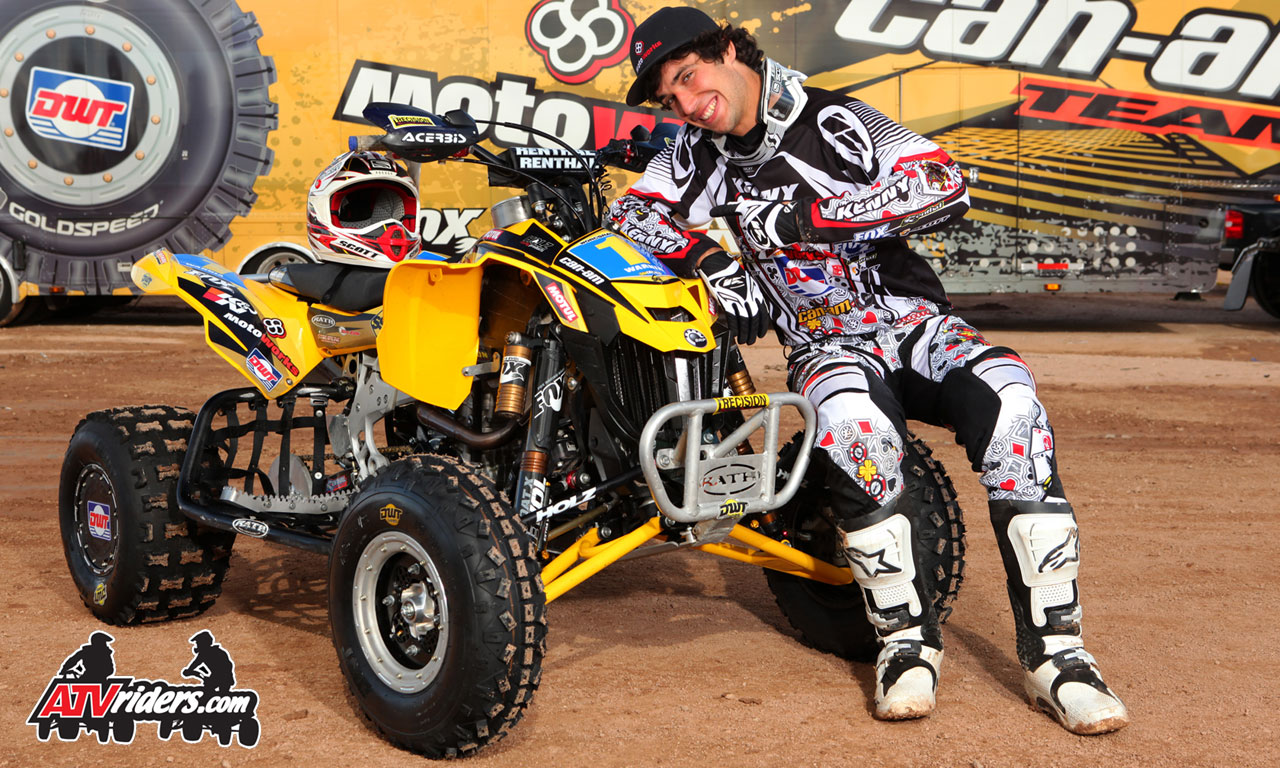2011 worcs racing pro atv champion jeremie warnia