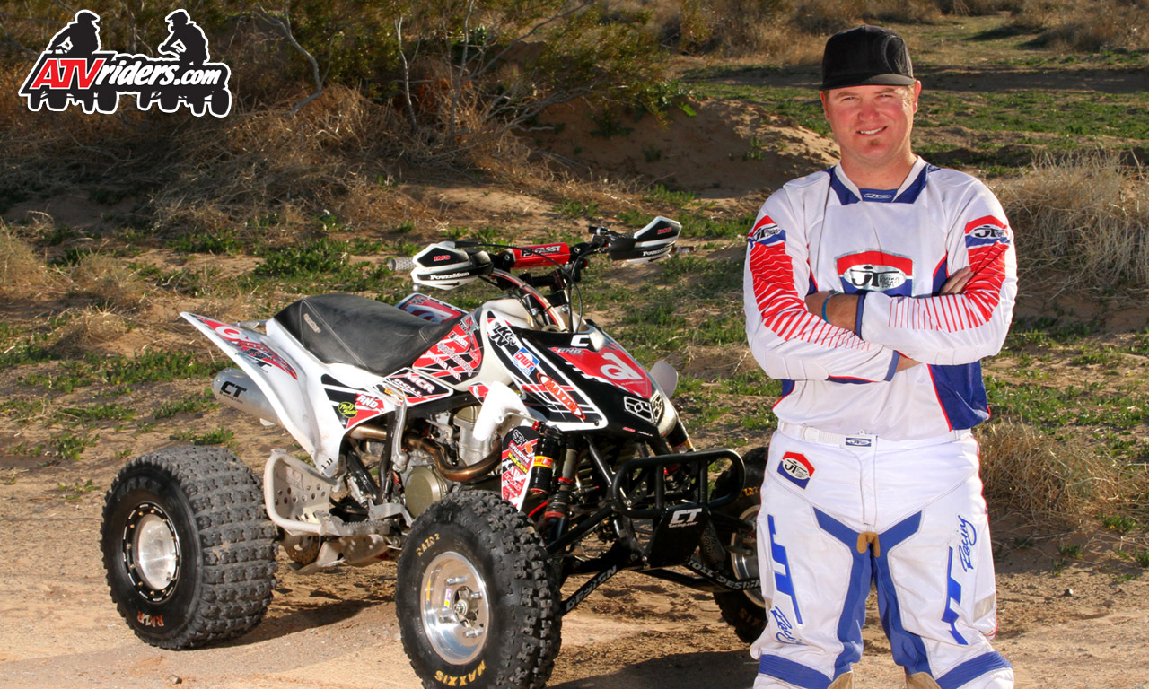 2011 best in the desert pro atv champion danny prather