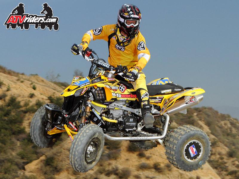 Fox Racing Shox Josh Frederick Worcs Pro Atv Racer