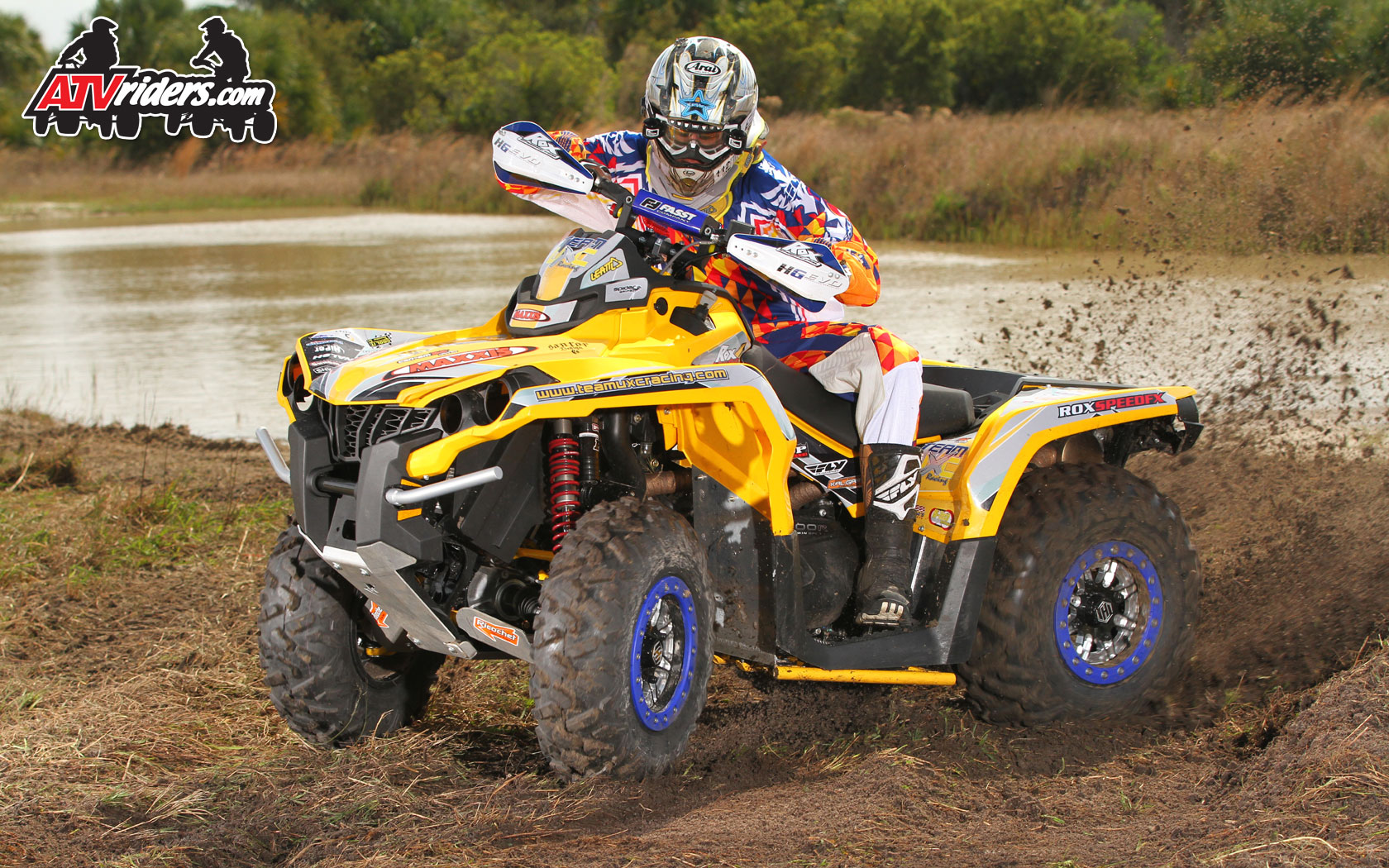 "Can Am Outlander 800 >> ROX Speed FX' Michael Swift - GNCC Utility ATV Racer - ""ATVriders.com Wednesday Wallpapers"""