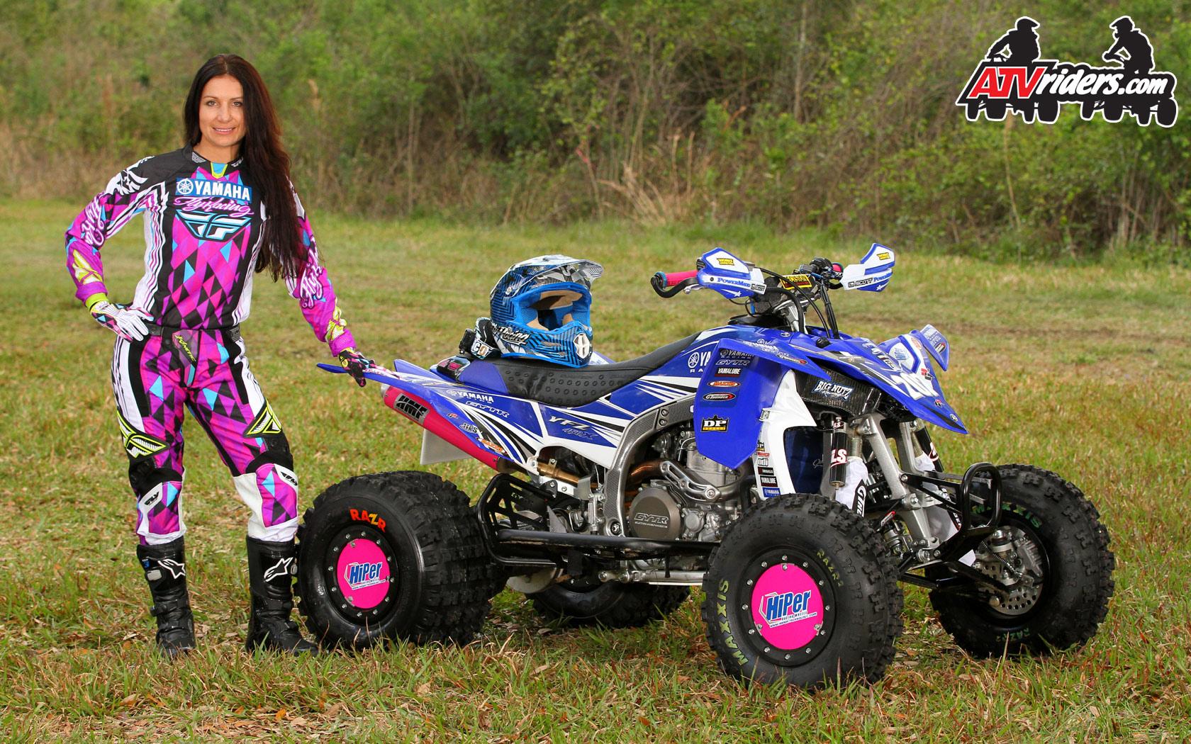 Traci Cecco 8x Women S Gncc Champion Yamaha Yfz450r Atv