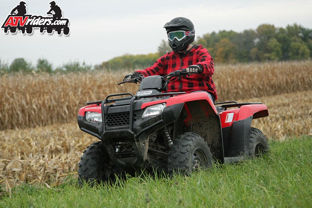 Honda Rancher 420 ATV Wallpaper