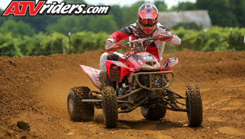 David Haagsma ATV Motocross