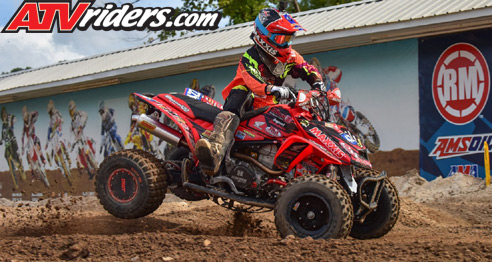 David Haagsma ATV Motocross