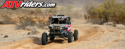 Katie Vernola BITD Racing Polaris RZR Turbo