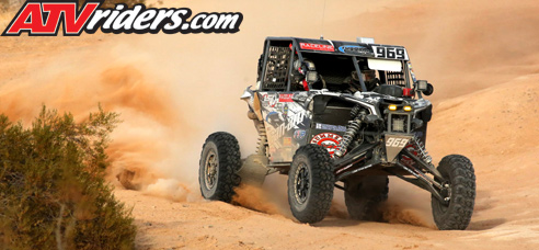 Logan Gastel Can-Am Maverick X3 BITD Racing