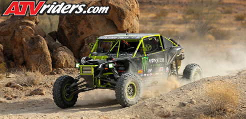 Marc Burnett Can-Am Maverick X3 BITD Racing