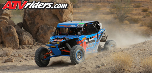 Phil Blurton Can-Am Maverick X3 BITD Racing