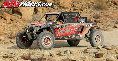 Randy and Sierra Romo Polaris RZR Racing
