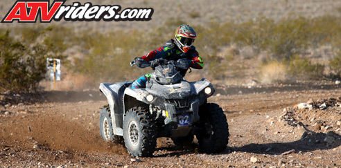 Adolfo Arellano Can-Am Outlander 1000 BITD Racing
