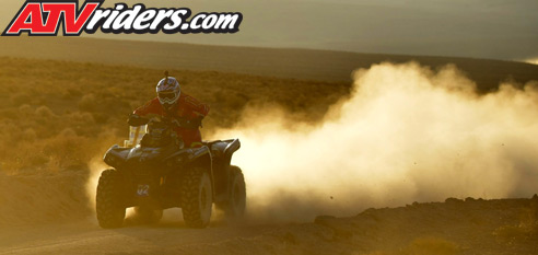 Jose Torres Can-Am Outlander 1000 BITD Racing