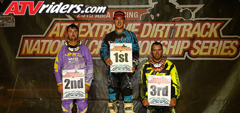 Extreme Dirt Track Round 1 Pro-Am Podium