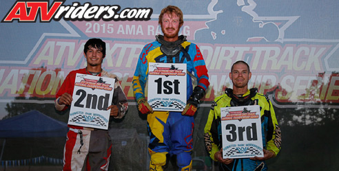 Extreme Dirt Track Round 1 Pro-Am Unlimited Podium