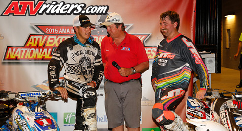 Pro-Am Podium Extreme Dirt Track