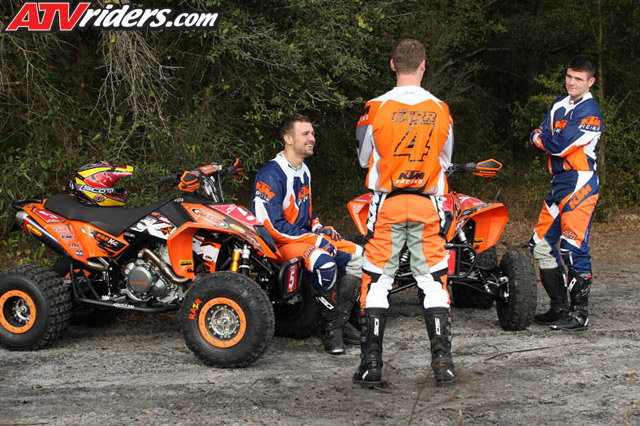 the winter with Tim Farr training for the 2008 GNCC ATV Racing Season