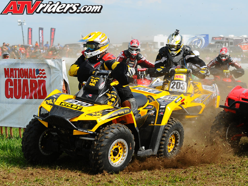 Can-Am Outlander Takes Second