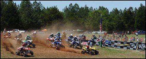 Chris Borich - Suzuki LTR450 ATV Holeshot