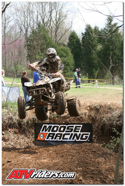 The Indiana XC ATV Racing Series featured a Creek Jump as an alternative to