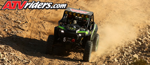 Shannon Campbell  Polaris RZR King of the Hammers
