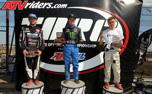 TORC Racing Pro SxS Podium