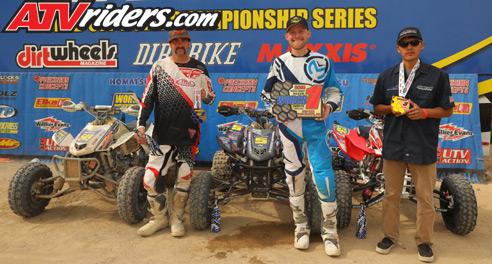 WORCS Racing Pro ATV Podium