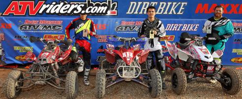 WORCS Racing ProAm ATV Podium