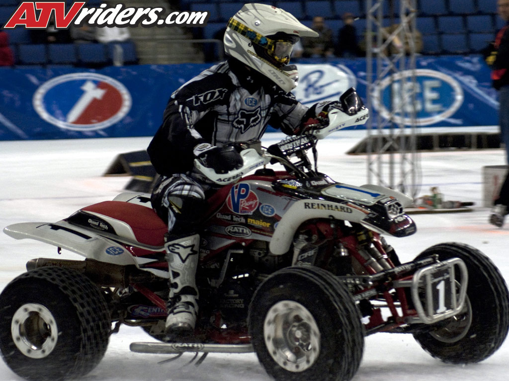 2009 2010 world championship ice racing atv race report