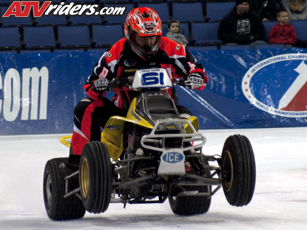 2009 2010 World Championship Ice Racing Atv Race Report