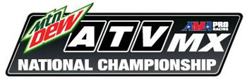 AMA ATV MX National Motocross Racing Series Logo