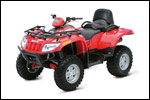 2007 Arctic Cat 650 H1 3 in 1 4x4 Utility ATV