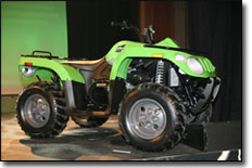 Arctic Cat 366 4x4 ATV Side View