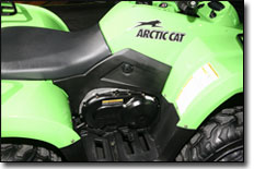 Arctic Cat 366 4x4 ATV Side