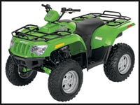 2008 Arctic Cat 400 4x4 Utility ATV