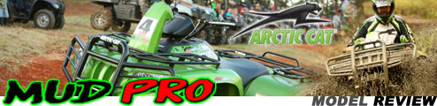 2009 Arctic Cat Mud Pro 700 H1 EFI Utility ATV Test Ride Review