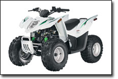 DVX 90 SE White ATV