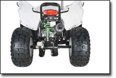 Special Edition White DVX90 ATV
